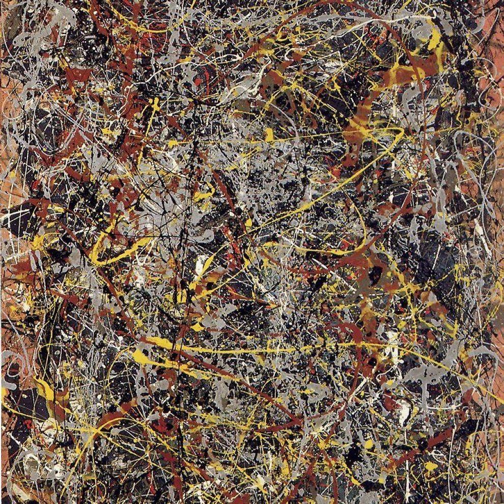 """<b>KUNST:</b> Maleriet """"Nr. 5, 1948"""" ble solgt for hele 905 millioner kroner i november."""