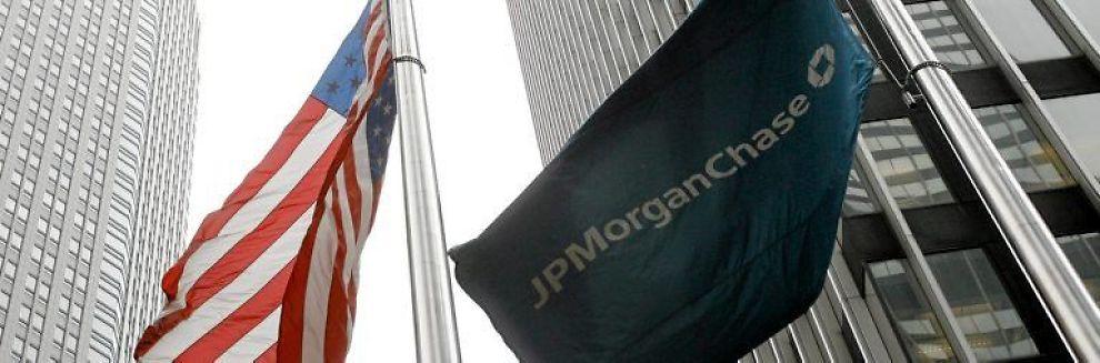 <b> REKORD BOT: </b> Den amerikanske banken JP Morgan har fått 311 millioner pund i bot av britiske finansmyndigheter.