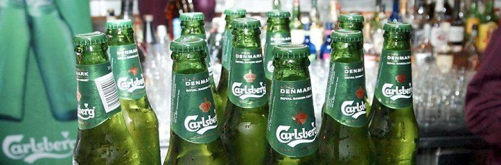 <b>DYRERE: </b> Prisen på Carlsberg-øl kan øke med opptil 20 prosent i 2010.