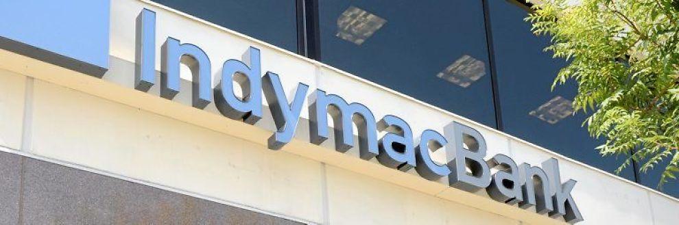 <b>KOLLAPSET:</b> Storbanken IndymacBank måtte stenges.