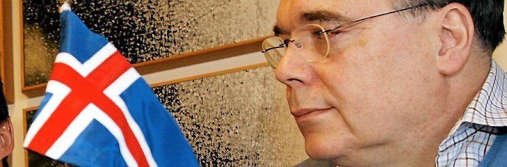 <b>KRITIKK:</b> Tidligere statsminister Geir Haarde får kritikk for finanskollapsen på Island.