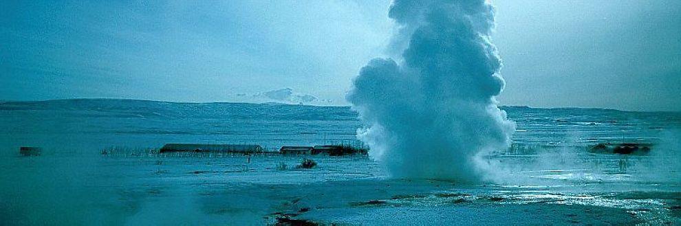 <b>SORT GULL:</b> Kanskje kan Islands økonomi reddes av det sorte gull - oljen.