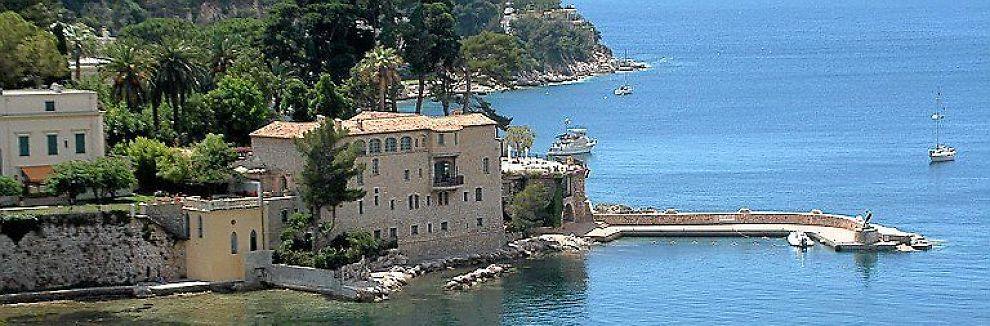<b>CAP FERRAT:</b> Bygningen på bildet er bare en tilfeldig bygning i Cap Ferrat nær Nice.
