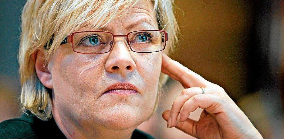 <b>KJØPER MILJØAKSJER</b> Finansminister Kristin Halvorsen.