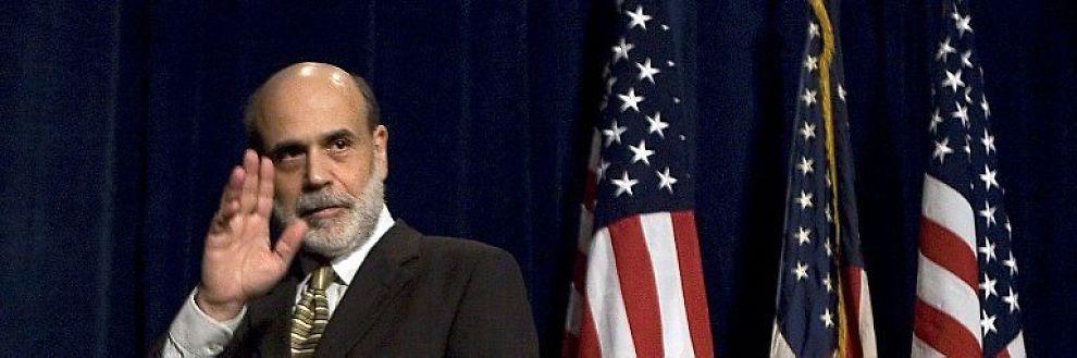 <B>NULLRENTEMESTER:</B> USAs sentralbanksjef Ben Bernanke.