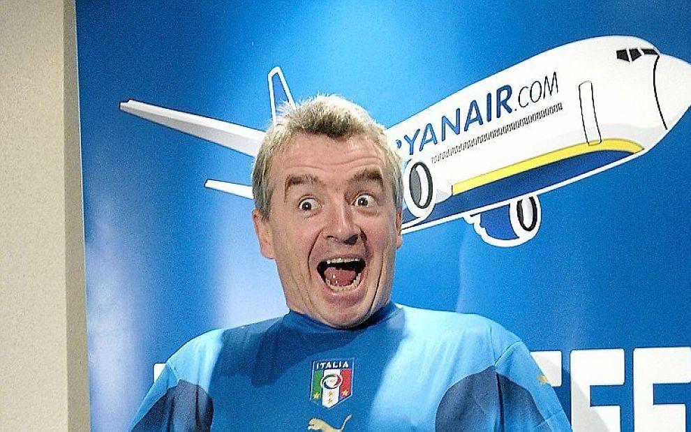 Ryanair-sjef Michael O'Leary prøver alltid å finne nye måter å tjene penger på.