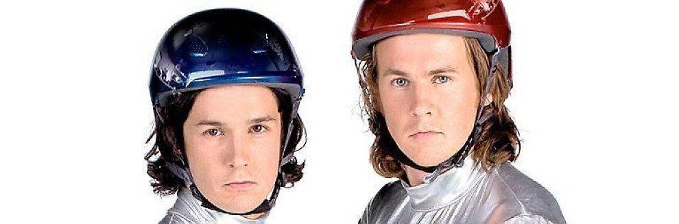 <b>MØTER VEGGEN:</b> Ylvis-brødrene hadde stor suksess med showet «Ylvis møter veggen» i fjor. I år har de to nye konsepter.