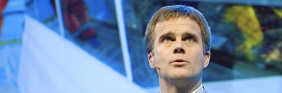 <b>NÆRMER SEG FRISTEN:</b> Helge Lund og StatoilHydro kan gå inn i Irak.