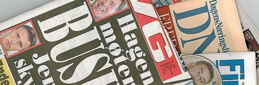 <b>AVISER:</b> Avisene vil dø, uansett, mener artikkelforfatteren.