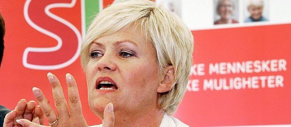 <b>FÅR KJEFT:</b> Finansminister Kristin Halvorsen og Oljefondet får kjeft av miljøbevegelsen for å stemme mot klimatiltak.