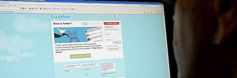 <b>FLYR AVGÅRDE:</b> Twitter har en formidabel vekst på nett.