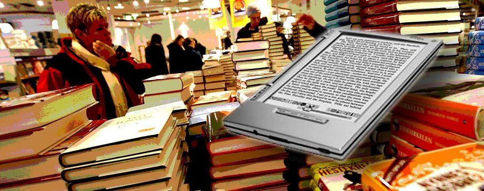 <b>E-BOKA:</b> Bokbransjen er en av mange som står foran endringer.