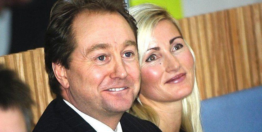 <b>EKTEPAR:</b> Kjell Inge Røkke og Anne Grete Eidsvig.