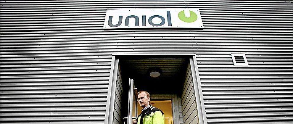 <B>CO2-VENNLIG:</B> Uniol-fabrikken symboliserte at folk flest kunne bidra til løsningen på klimaproblemet, skriver E24s spaltist.