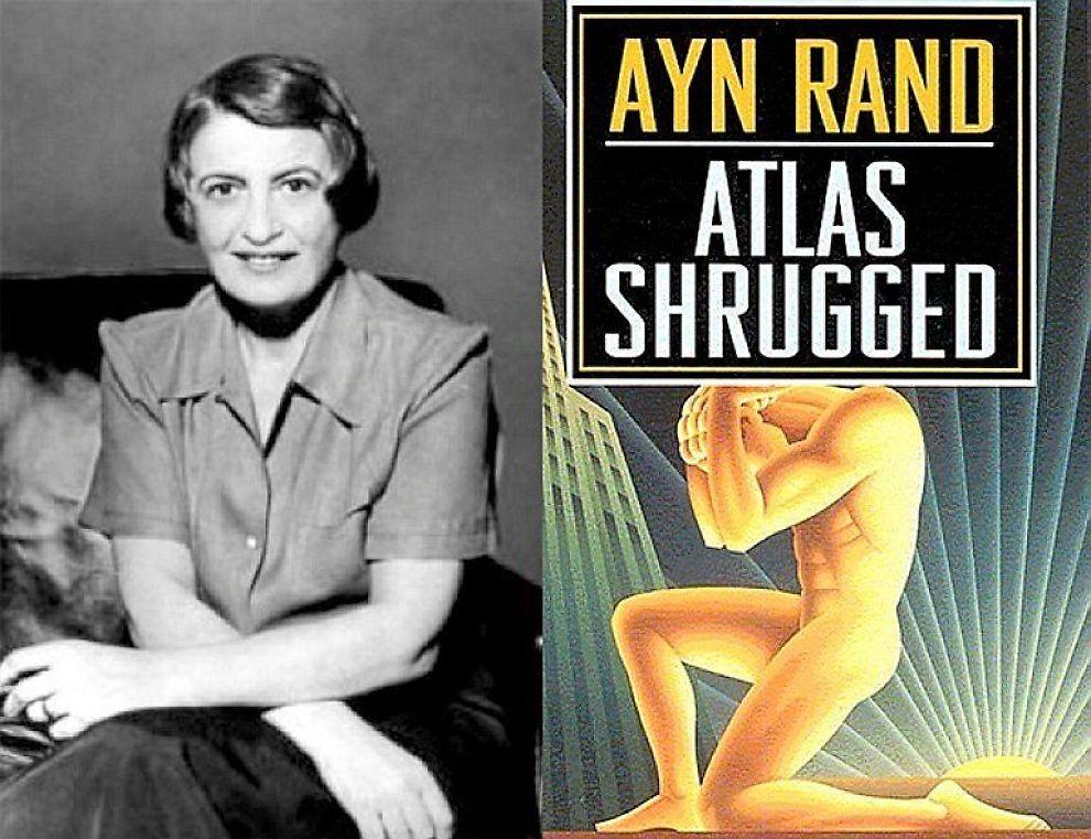 <b>«Atlas shrugged»:</b> Den amerikansk-russiske forfatteren Ayn Rands mest kjente verk.