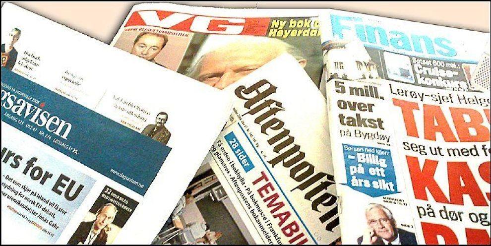 <b>AVISER:</b> Hvilken journalistikk vil overleve neste tiår?