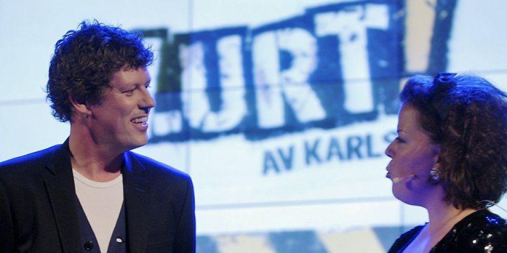 <b>EN LUR JAN FREDRIK KARLSEN:</b> I «Lurt av Karlsen» som sammen med Else Kåss Furuseth i «Torsdag kveld fra Nydalen».