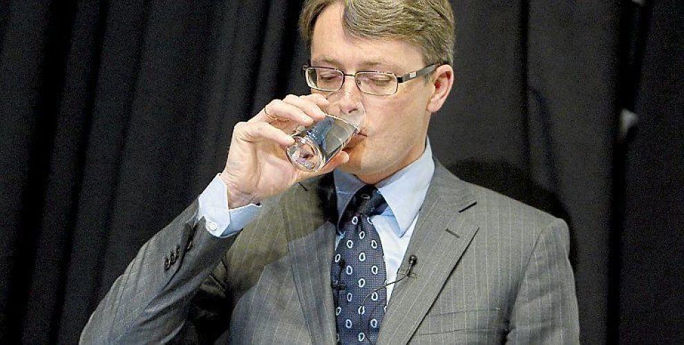 <b>TILBAKE TIL NORMALT:</b> Konsernsjef Øyvind Eriksen i Aker mener at forholdet til staten er tilbake til normalen.