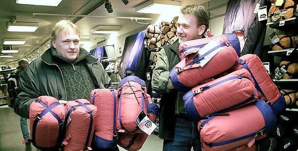 <b>2xTIDEMANDSEN:</b> Brødrene Tore (t.v.) og Øyvind startet den første XXL-butikken i 2001.