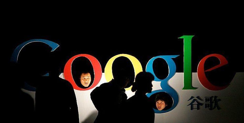 <b> KINA TRUER GOOGLE: </b> I Kina risikerer Google å gå i svart.