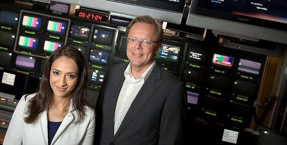 <b>NYHETSDUO</b>: Mah-Rukh Ali er TV2s nye nyhetsanker etter Pål T. Jørgensen. Hun skal lede sendingene sammen med Arill Riise.