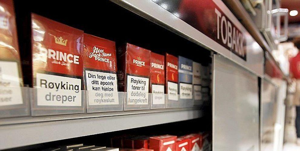 <b>KAN KREVE BEVILLING:</b> Tobakksalg kan bli som ølsalg.
