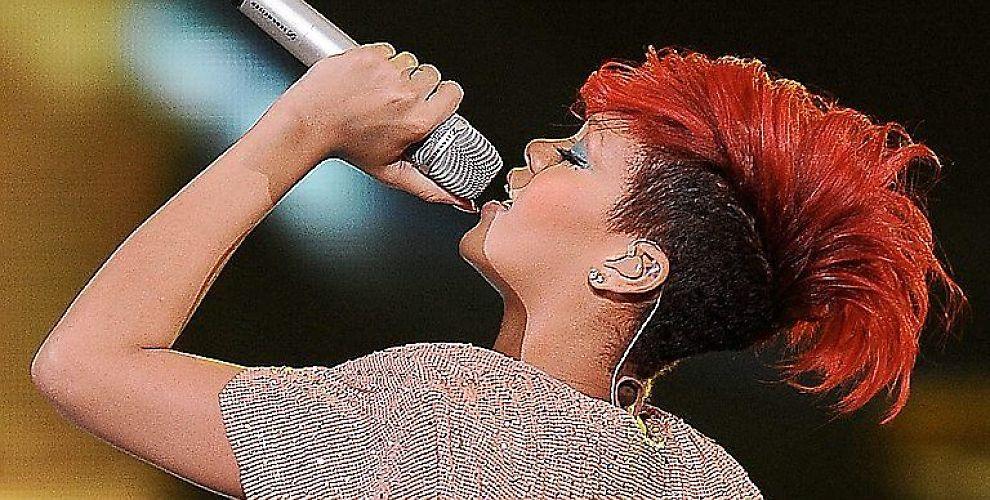 <b>RIHANNA:</b> Store artister som Rihanna hjelper lite på salget av CD-er.