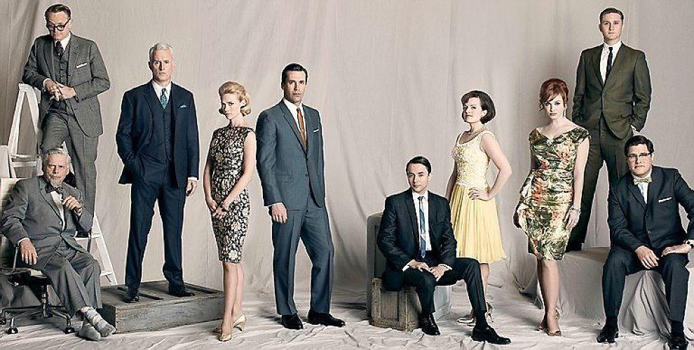 <b>MAX SATSING:</b> Den kritikerroste amerikanske serien Mad men er en av seriene som skal lokke gutta til den nye TV-kanalen.