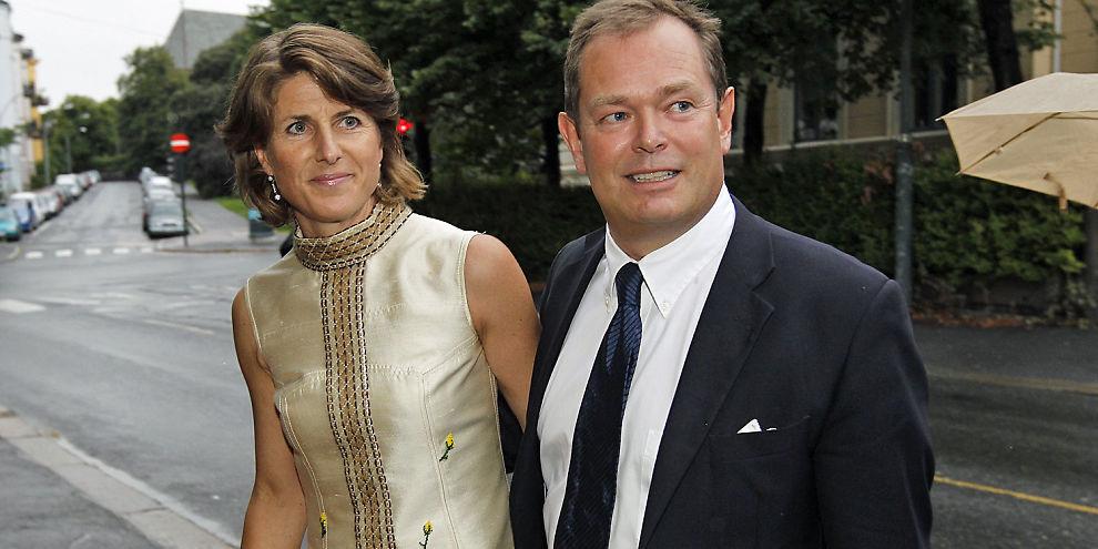 HANDLER I FINANSHUS:  Knut Brundtland, sønn av Gro Harlem Brundtland, kjøper en halv million aksjer i ABG Sundal Collier.
