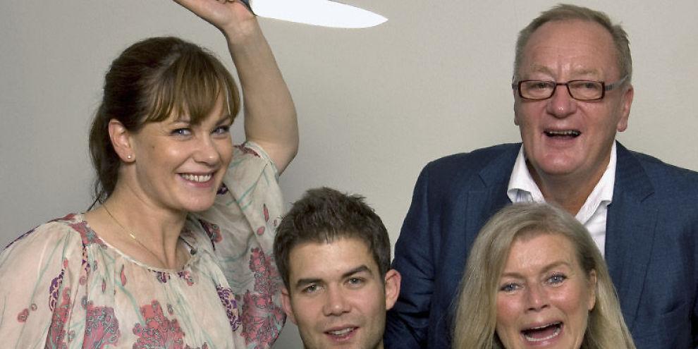CELEBERT SELSKAP: Elin Sogn, Magnus Rønningen, Knut Haavik, Ingeborg Sørensen var noen av gjestene i TV3s Celebert Selskap.