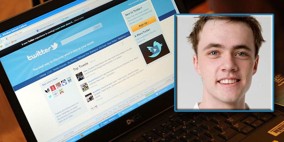 FIKK JOBBNAPP: Joakim R. Killingberg fikk jobb etter en twitter-melding.