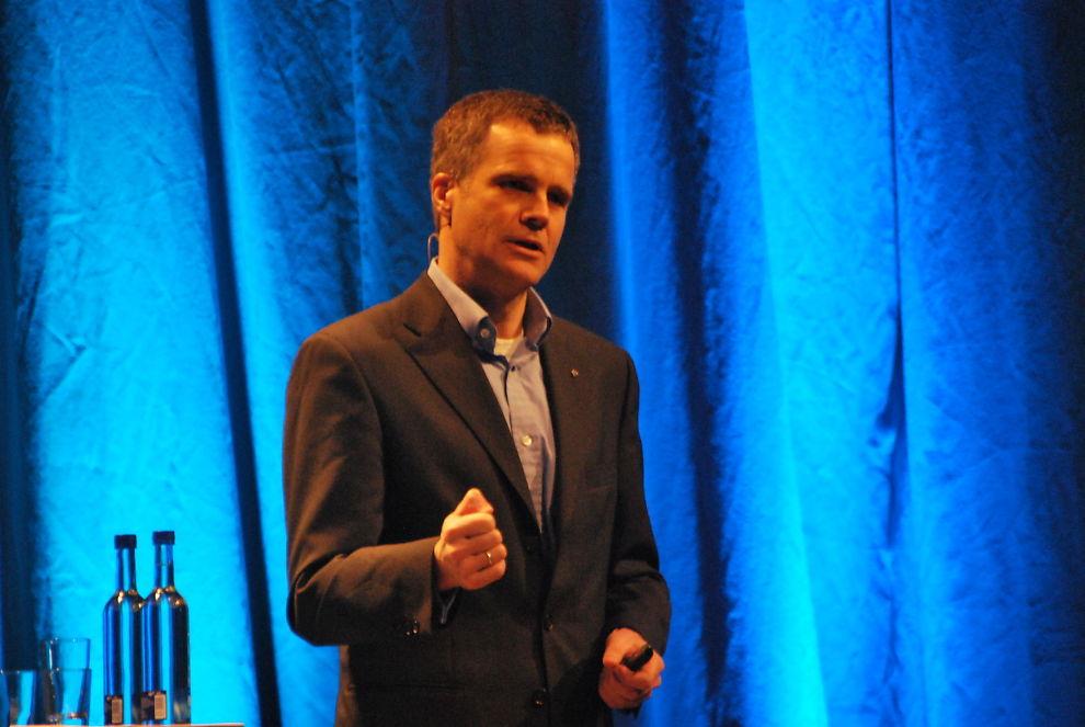 TILPASNINGSEVNE: Å utvikle kompetansearbeidsplasser og være fleksibel er det viktigste for fremtidens ledere, mener Statoil-sjef Helge Lund.