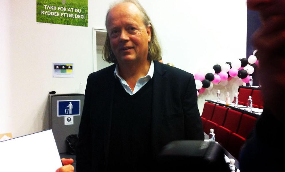 EKSMILLIARDÆR: Atle Brynestad er foredragsholder på «Næringslivsdagene» på BI.