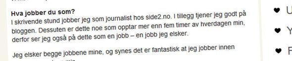 TJENER GODT: Caroline Berg Eriksen tjener godt på sine ulike roller.