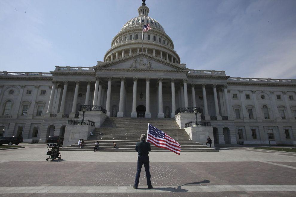 KONGRESSEN: Representantene i den amerikanske nasjonalforsamlingen har problemer med å enes om et statsbudsjett. Dermed står landet fremdeles uten et vedtatt budsjett for inneværende år.