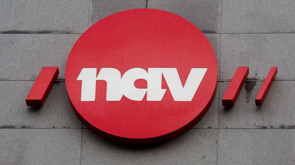 NAVs logo, Arbeids- og velferdsforvaltningen. Foto: Morten Holm / Scanpix