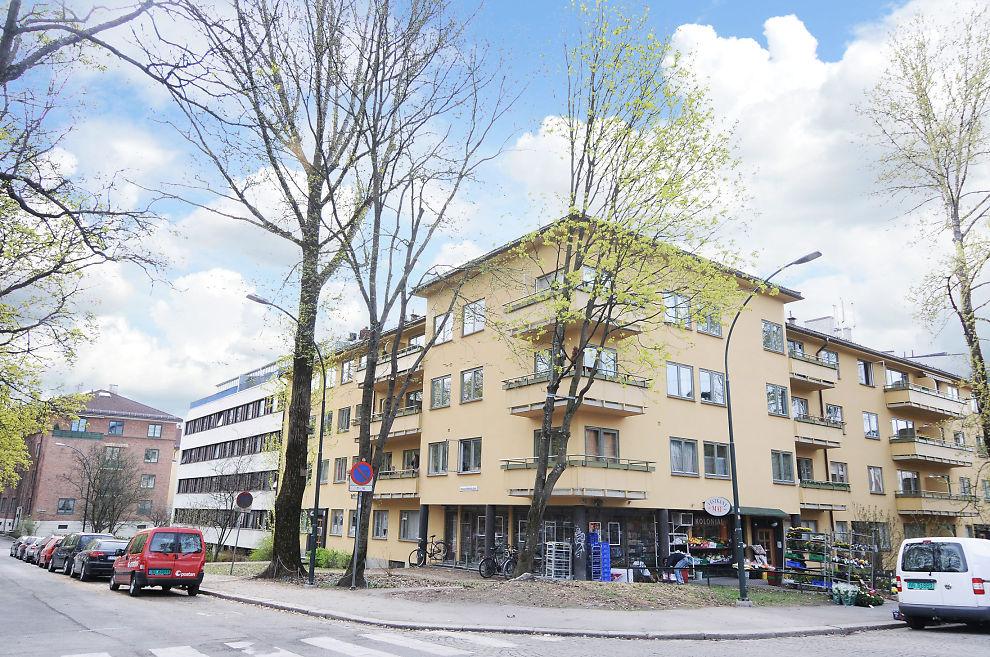 FOR FÅ: I hovedstaden er det overskudd av leiligheter som i denne bygården i Tiedemandsgate, men i resten av landet er det et betydelig underskudd, viser ny undersøkelse.