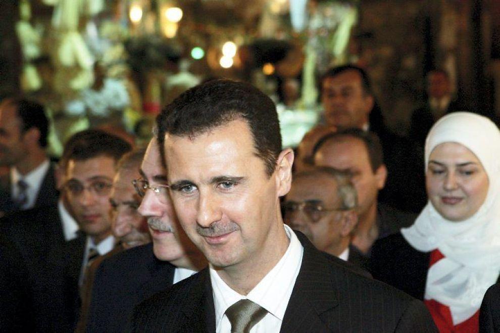 SIER STOPP: Syrias president Bashar el-Assad har påkalt seg vreden fra vestlige land etter å ha slått kraftig tilbake mot protester i landet.