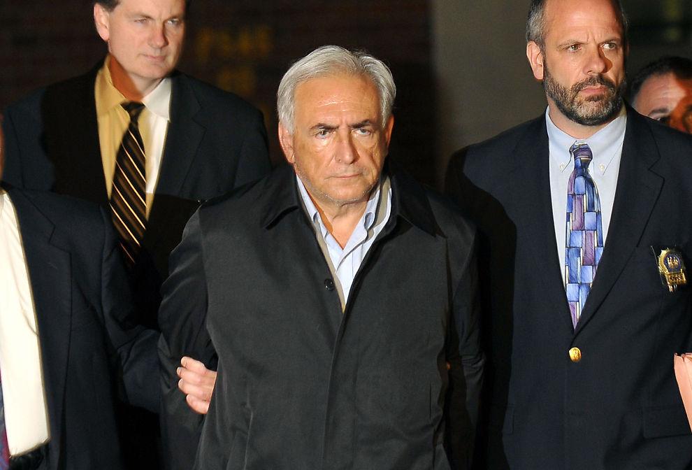 ARRESTERT: IMF-sjef Dominique Strauss-Kahn er siktet for voldtektsforsøk av en hotellansatt i New York.