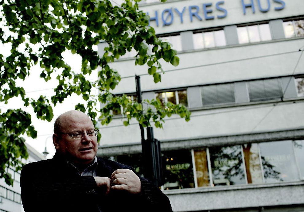 KÅRER VINNER: Bjørn Hansen, eller Nicecap som han er bedre kjent som, landets mest orginale kommentator, mener Høyre gikk seirende ut av vårens landsmøtesesong.