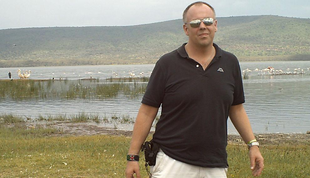 DELTAR PÅ AVSTAND: Svein Mork Dahl bor i Nairobi i Kenya. Det forhindret ham ikke fra å være best av over 8.000 deltakere i Aksje-NM i uken som gikk.