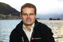Kommunikasjonsdirektør Ragnar Norum i Hurtigruten.