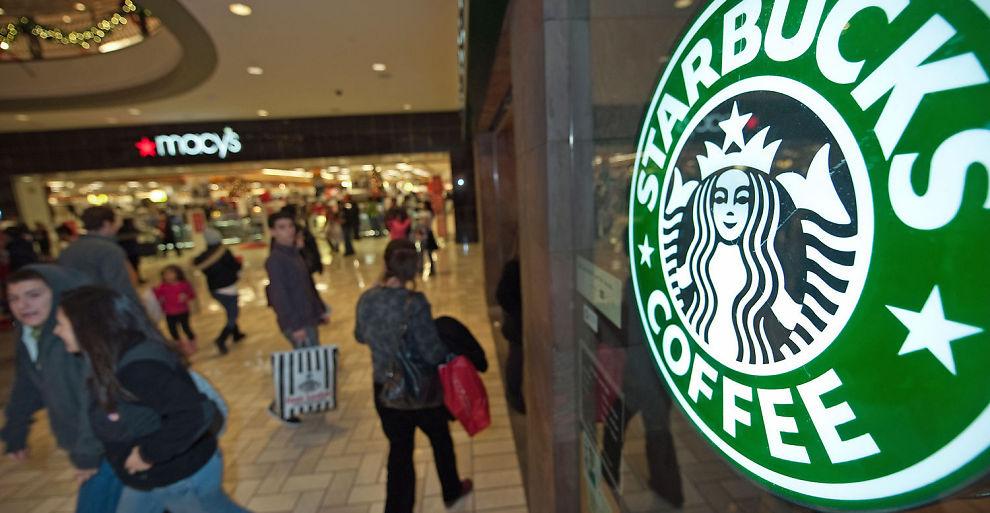ÅPNER I NORGE: Starbucks åpner på Gardermoen i 2012.