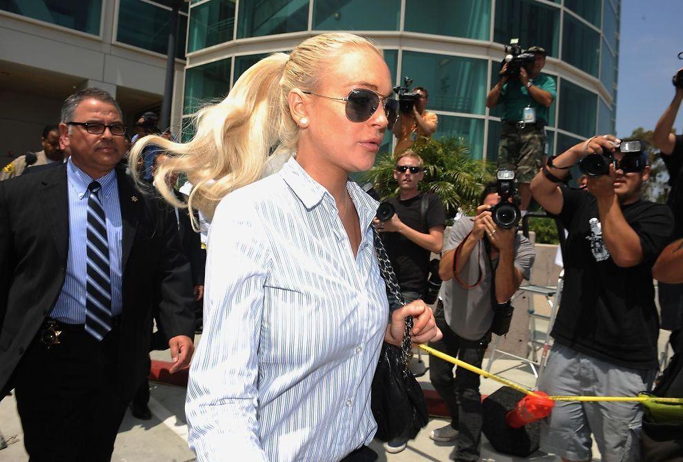 Lindsay lohan i husarrest