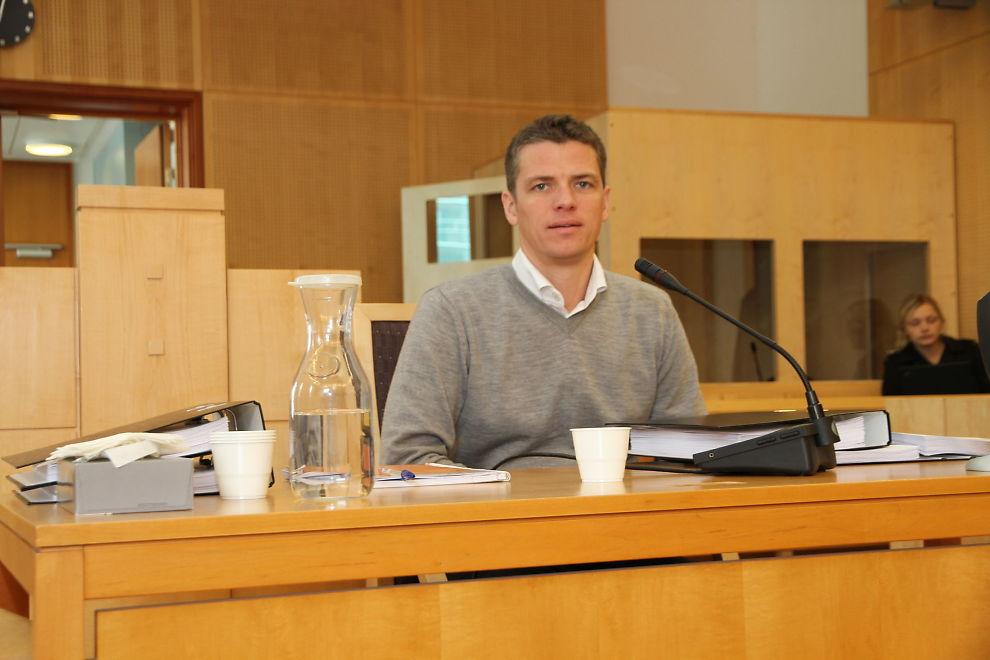 FENGSEL: Tidligere stjernemegler i Pareto, Per-Robert Jacobsen, ble tirsdag dømt for innsidekriminalitet.