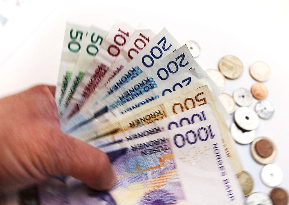 VI LÅNER MER: Norske husholdniger låner stadig mer.