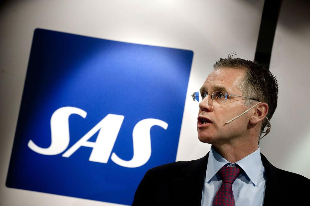 PLATTFORM: - Resultatet gir oss en plattform å arbeide videre på, et steg på veien. Men det er langt fra tilstrekkelig, sier konsernsjef Rickard Gustafson i SAS.