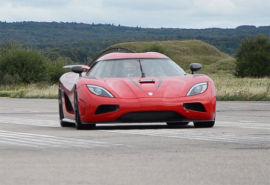REKORDBILEN: Her er bilen under rekordløpene.