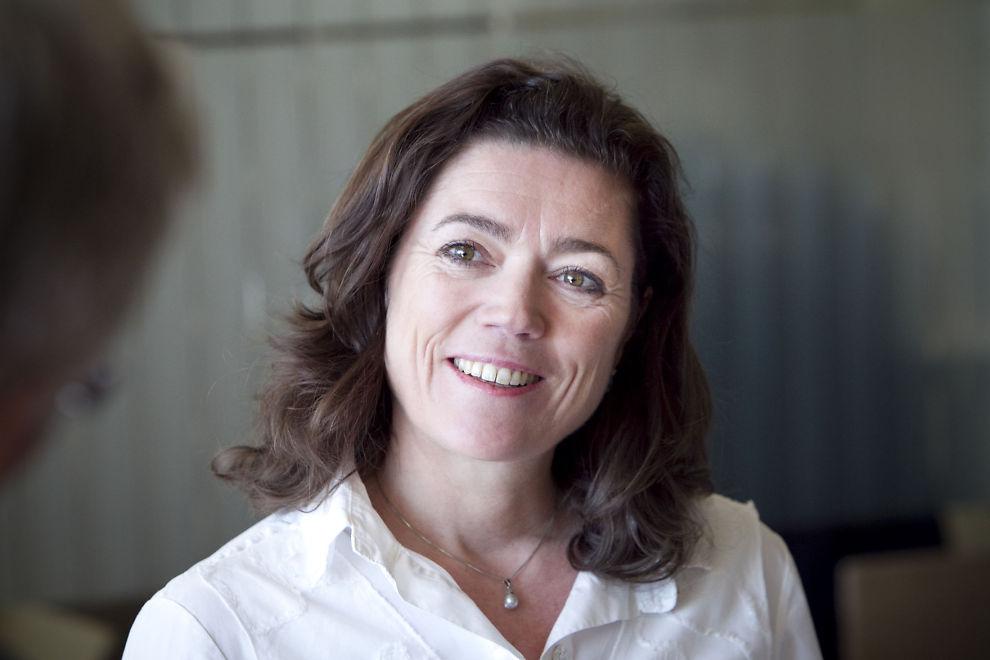 TELENOR-TOPP: Kristin Skogen Lund konserndirektør i Telenor og president i NHO. Før hun gikk til Telenor var hun administrerende direktør i Aftenposten.