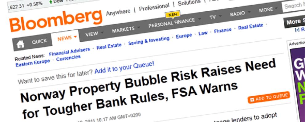 <p>FOKUS PÅ NORGE: De stadig høyere boligprisene her på berget vekker oppsikt i utlandet.</p>